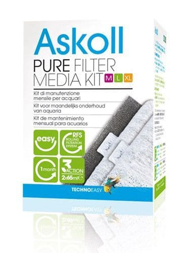 Askoll Pure Filter Media Kit M/L/XL