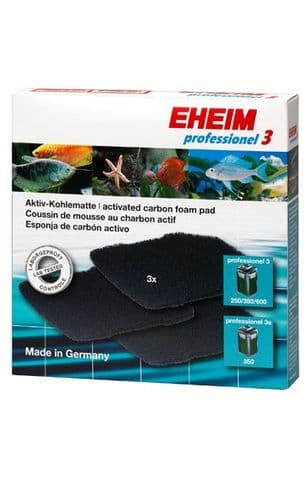 EHEIM Carbon Filter Pad for Professionel 3 250/350/600, Professionel 3e 350