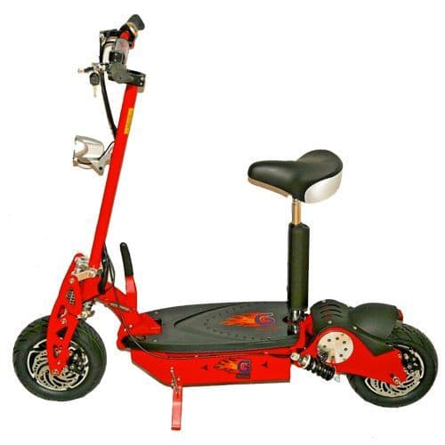 1000W 48v Teenager Sit On Sports Battery-Powered Scooter