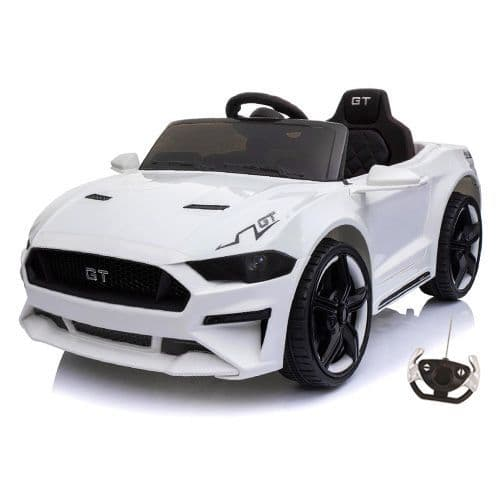 12v Ford Mustang GT Style Childs Battery-Powered Car with Remote