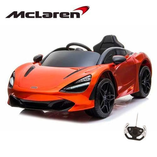 12V Official McLaren 720S Orange Sit in Supercar with Remote