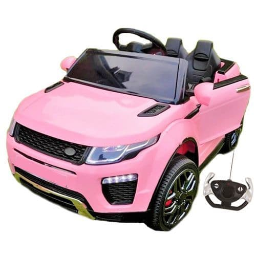 12v Pink Girls Evoque Style 4x4 Jeep with Remote Control System