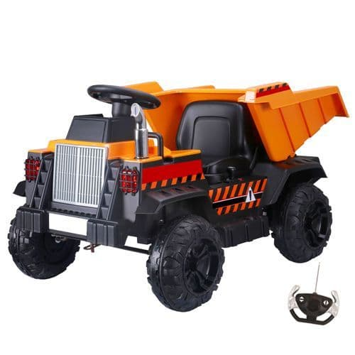 12V Ride On American Dumper Truck With Rear Tipper & Remote