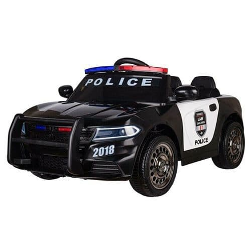 12V Ride On NYPD Style Childs Police Car With Siren & Lights