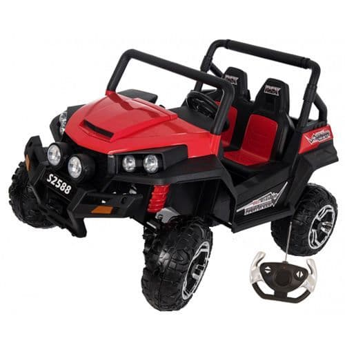 2-Seater 24v 2-Wheel Drive Ride-In Off-Road Jeep + Remote