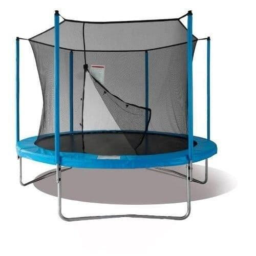 Large 12ft Duplay Garden Trampoline with Net Enclosure