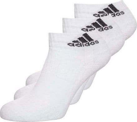 Adidas 3S Ankle Sock 3Pairs - White - AA2285