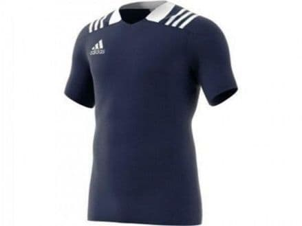 Adidas 3S Rugby Jersey Navy Shirt -  BS3185