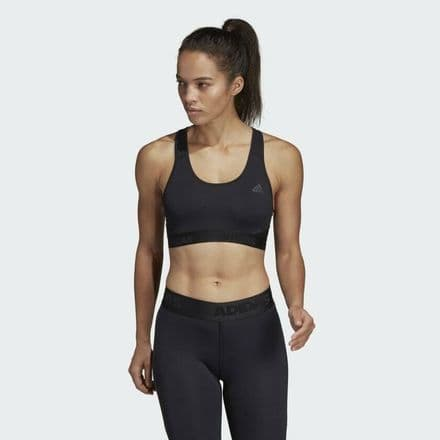 Adidas Alphaskin Sports Black Fitness Bra