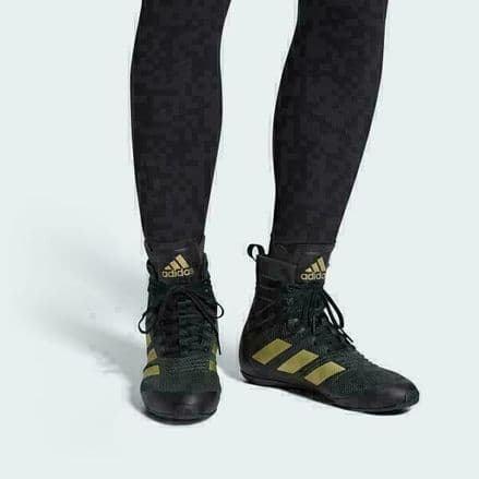 Adidas Boxing Boots Speedex 18 Black Gold Shoes