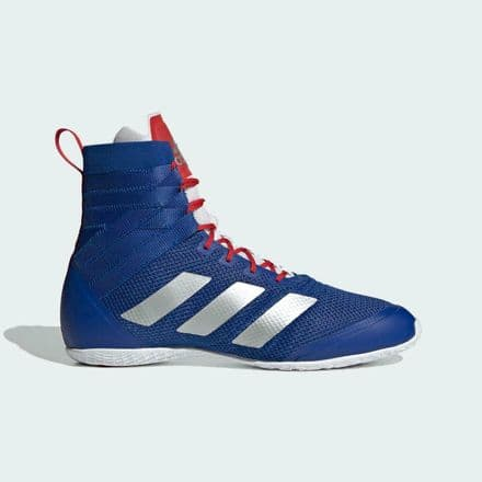 Adidas Boxing Boots Speedex 18 Blue Silver Red