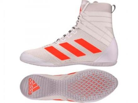Adidas Boxing Speedex 18 White Boots Shoes - B96493