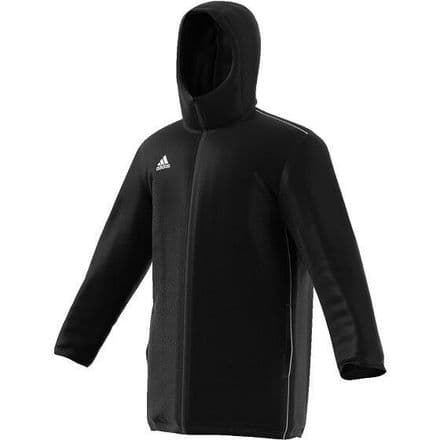 Adidas Core 18 Stadium Jacket - Black - CE9057