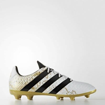 Adidas Football Ace 16.3 Firm Ground White Booots Shoes - S79715