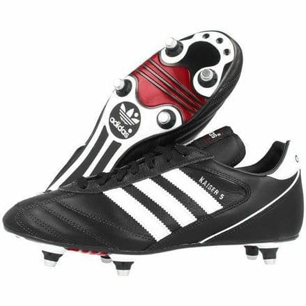Adidas Football Boots Shoes Kaiser 5 Cup Soft Ground Black - 033200