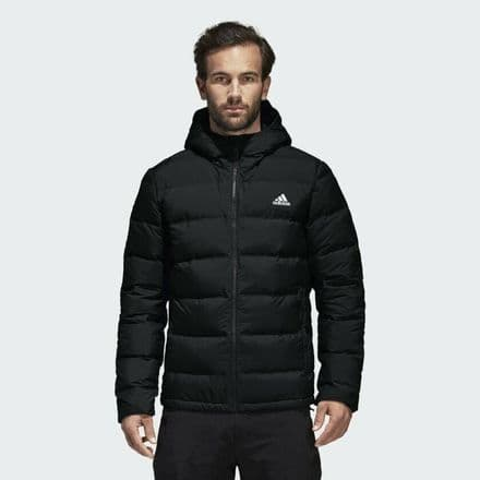 Adidas Helionic Hooded Down Jacket