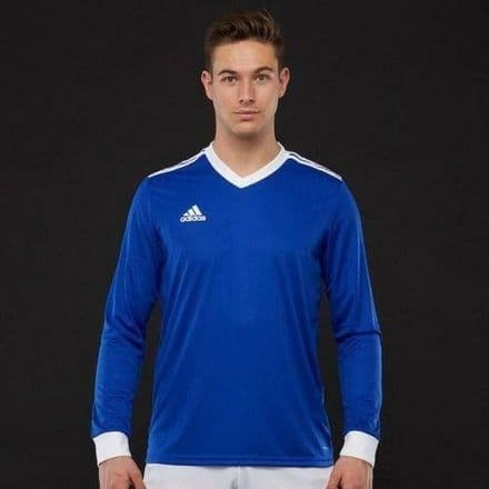 Adidas Hockey Tabela 18 Long Sleeve Bold Blue Shirt - CZ5457