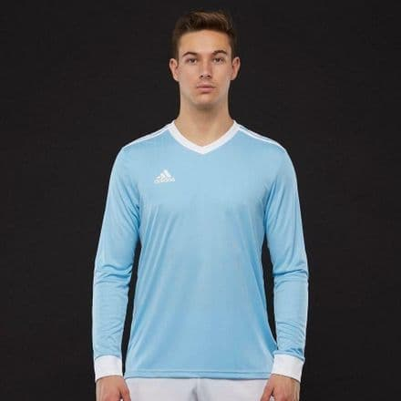 Adidas Hockey Tabela 18 Long Sleeve Clear Blue Shirt - CZ5460