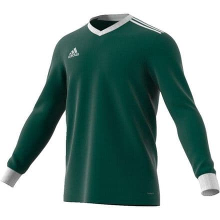 Adidas Hockey Tabela 18 Long Sleeve Green Tshirt - CZ5461