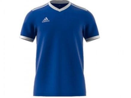 Adidas Hockey Tabela 18 Short Sleeve Bold Blue Shirt - CE8936
