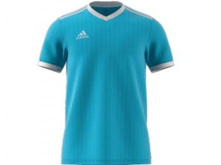 Adidas Hockey Tabela 18 Short Sleeve Clear Blue Shirt - CE8943