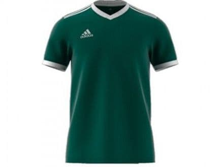 Adidas Hockey Tabela 18 Short Sleeve Green Shirt - CE8946