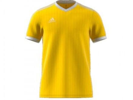 Adidas Hockey Tabela 18 Short Sleeve Yellow Shirt - CE8941