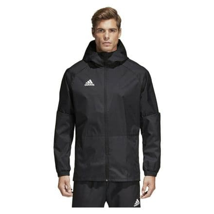 Adidas Hooded Jacket Condivo 18 Rain Jacket Black - BQ6528