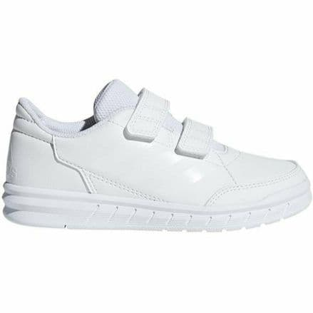 Adidas Junior Running Shoes Alta Sport Trainers White - D96832