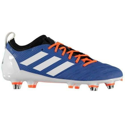 Adidas Malice Elite Soft Ground Blue Rugby Boots - F35813