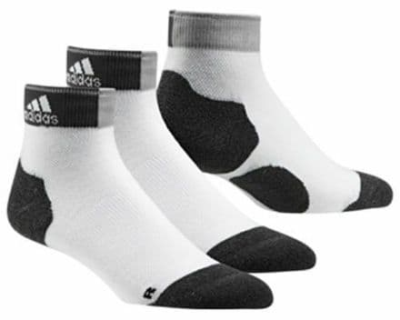 Adidas RE Anklet Socks White Black Grey AA2256