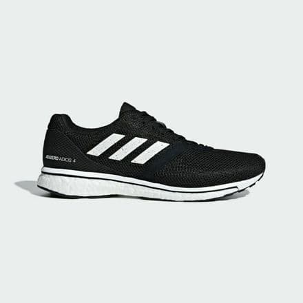 Adidas Running adizero Adios 4 Mens Shoes Trainers - Black - B37312
