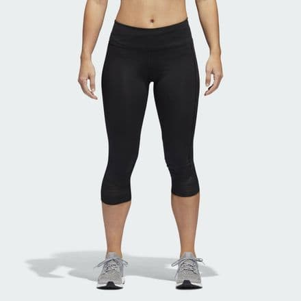 Adidas Running How We Do 3/4 Tights Womens Black - CG1079
