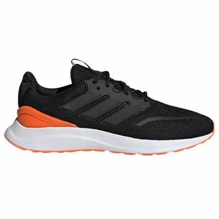 Adidas Running Shoes Mens Energy Falcon Black Orange Trainers - EE9848