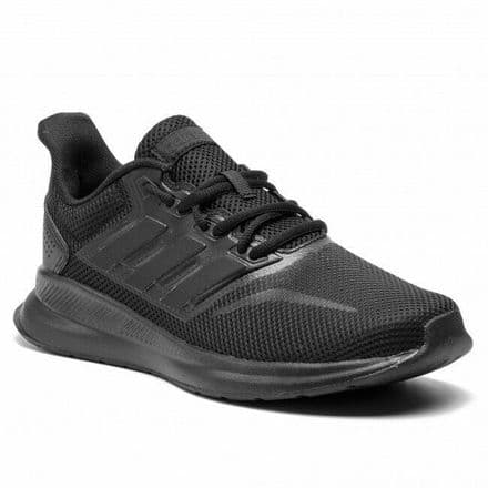 Adidas Running Shoes Mens Run Falcon Trainers Triple Black - G28970