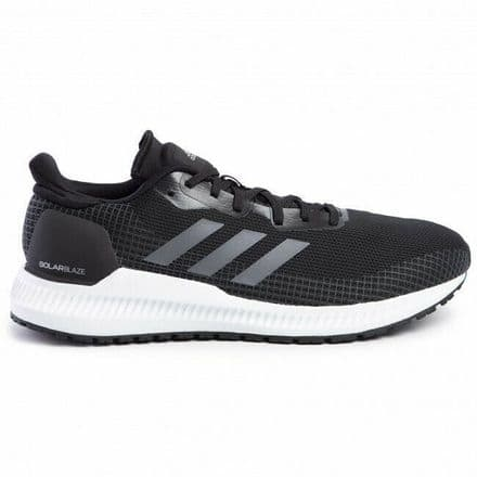 Adidas Running Shoes Mens Solar Blaze Black Grey - EF0815