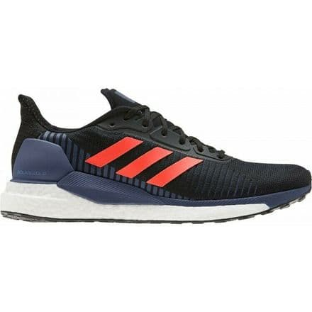Adidas Running Shoes Mens Solar Glide 19 Black Red - EE4290