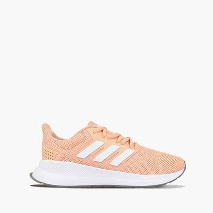 Adidas Running Shoes Womens Run Falcon Trainers Pink - EE8165