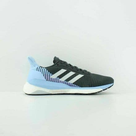 Adidas Running Shoes Womens Solar Glide St 19 Grey Blue - G28040