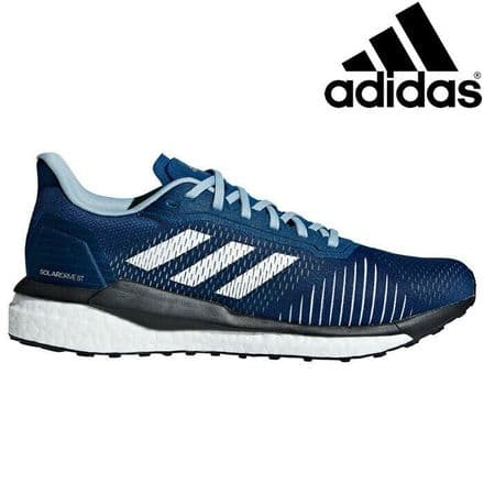 Adidas Running Solar Drive ST Mens Shoes Trainers - Blue/White - D97453