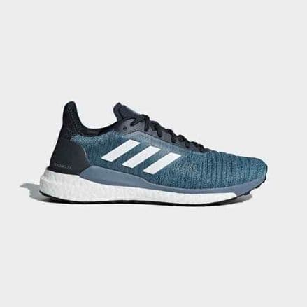 Adidas Running Solar Glide Mens Legend Ink Shoes Trainers - AQ0332