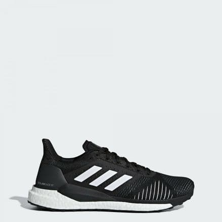 Adidas Running Solar Glide Stability Mens Black Shoes Trainers - CQ3178