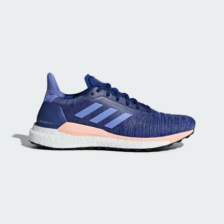 Adidas Running Solar Glide Womens Real Lilac Trainers Shoes - AQ0334