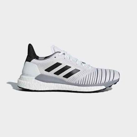 Adidas Running Solar Glide Womens White Shoes Trainers - BB6630