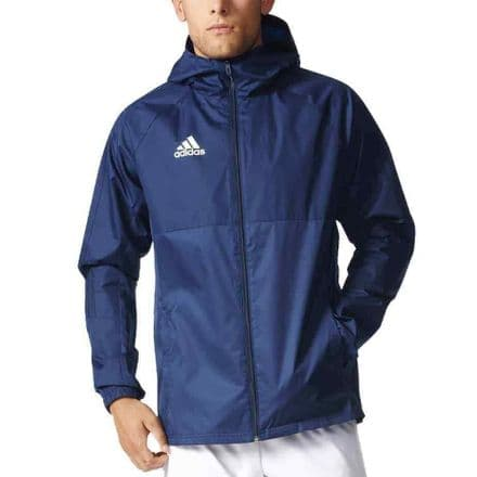 Adidas Team Wear Jacket Tiro 17 Rain Coat Navy - BQ2652