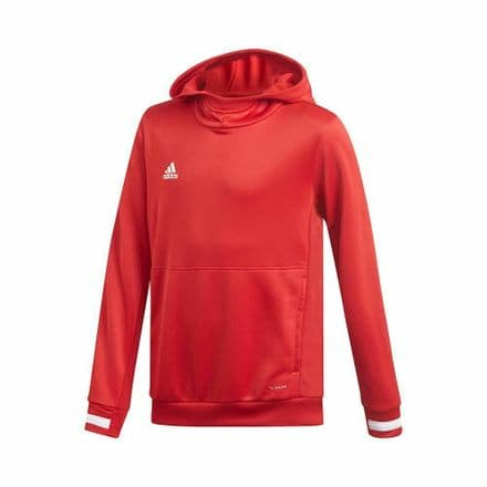 Adidas Team Wear Kids Hoody Red - DX7341