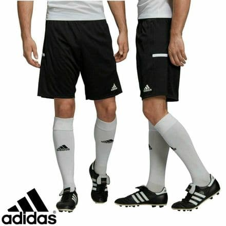 Adidas Team Wear Mens T19 3P Sports Shorts - Gym Training