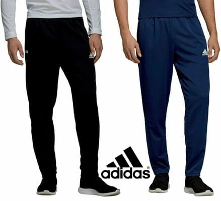 Adidas Team Wear Mens T19 Sports Tracksuit Pants Joggers - Gym Training