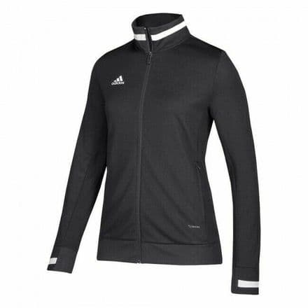 Adidas Team Wear Track Jacket Womens T19 Sports Black - DW6848