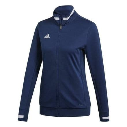 Adidas Team Wear Track Jacket Womens T19 Sports Navy - DY8818